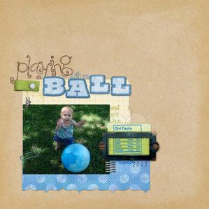 Playingball
